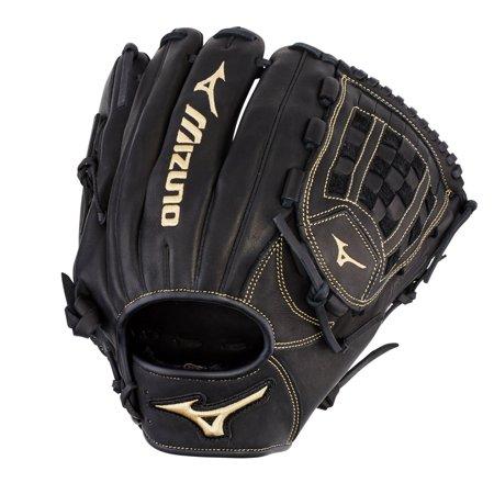 Black Baseball Glove - MVP Prime Pitcher/Outfield Baseball Glove 12