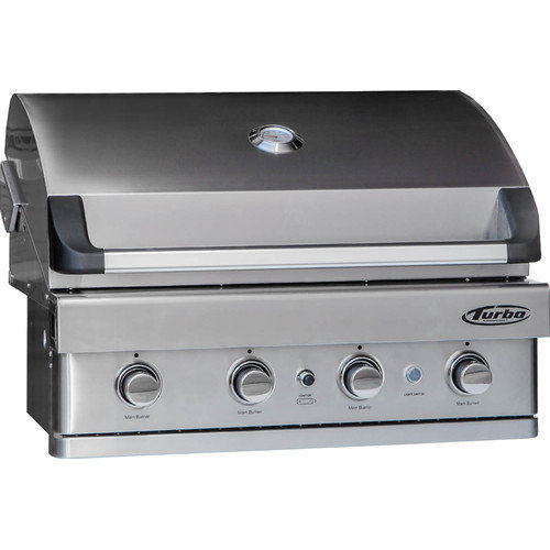 Barbeques Galore Turbo 4-burner Built-in Gas Grill
