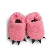 Babula Baby Winter Warm Furry Claw Home Indoor Slippers Shoes