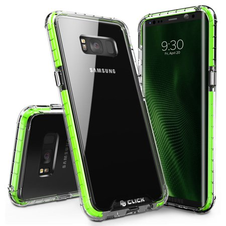 Galaxy S8 / S8 Plus Case, CLICK CASE Surge Series - Thin Dual Layered