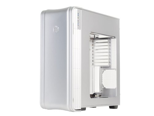 Silverstone Extended-ATX Tek Aluminum Full Tower Computer Case, Silver FT04S-W by SilverStone Technology