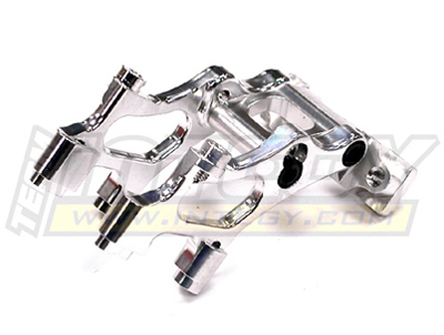 Integy RC Toy Model Hop-ups T3426SILVER Alloy Wing Mount for 1 16 Traxxas E-Revo VXL by Integy