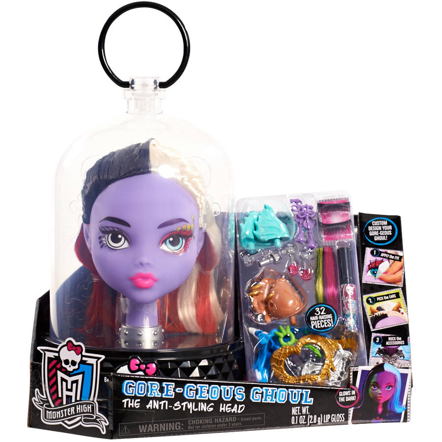 Monster High Purple Ghoul Styling Head