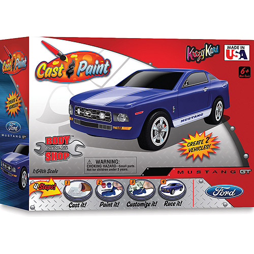 Krazy Kars Body Shop Kit, Mustang