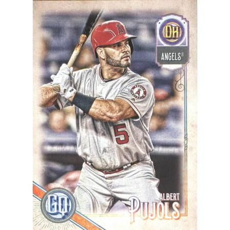 Albert Pujols Baseball - 2018 Topps Gypsy Queen #223 Albert Pujols Los Angeles Angels Baseball Card - *GOTBASEBALLCARDS