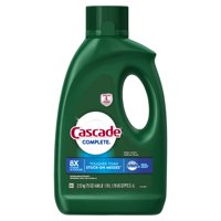 Cascade Complete, Gel Dishwasher Detergent, Fresh, 75 oz