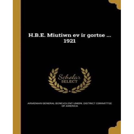 H.B.E. Miutiwn Ev IR Gortse ... 1921 - image 1 de 1