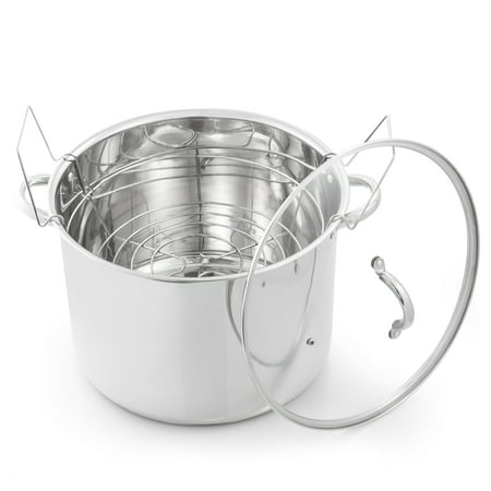 Prep-N-Cook Stainless Steel 21.5 qt. Canner 2 Piece
