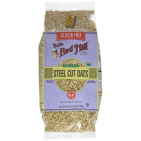Bob's Red Mill Gluten Free Steel Cut Oats, 24 Ounce (Pack ...