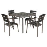 Boraam 5-Piece Santorini Dining Set