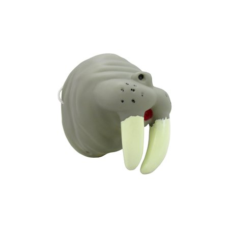 Gray Walrus Grey Animal Nose Mini Mask Costume Child Adult Halloween Accessory](Animal Noses Masks)