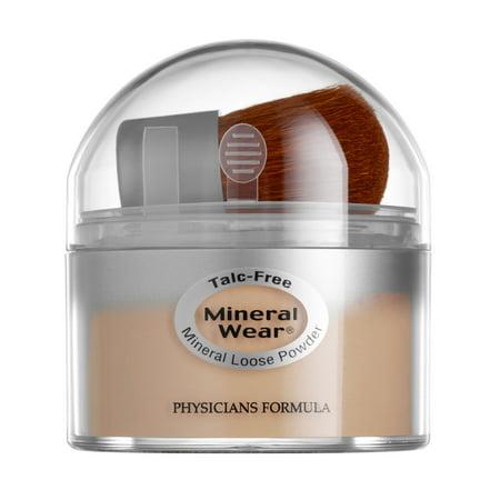 Organic Mineral Loose Foundation Powder - Physicians Formula Mineral Wear® Talc Free Loose Powder, Buff Beige