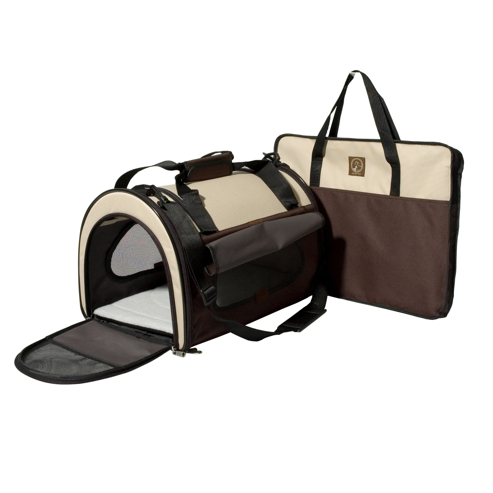 One For Pets Folding Carriers - The Dome