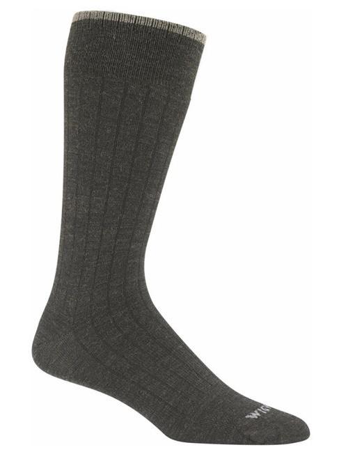 Wigwam  Men's Merino Black Wool XL Socks Brown