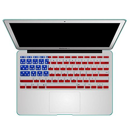 Keyboard Cover Silicone Rubber Skin for for All MacBook Air 11