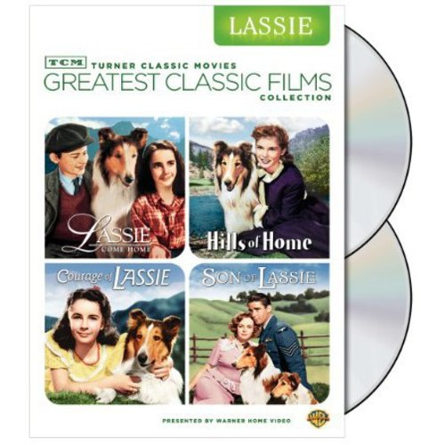 TCM Greatest Classic Legends Collection: Lassie - Lassie Come Home / Son Of Lassie / Courage Of Lassie / Hills Of Home