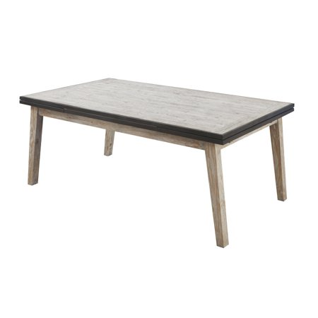 Emerald Home Synchrony Extension Dining Table W 20  Ext