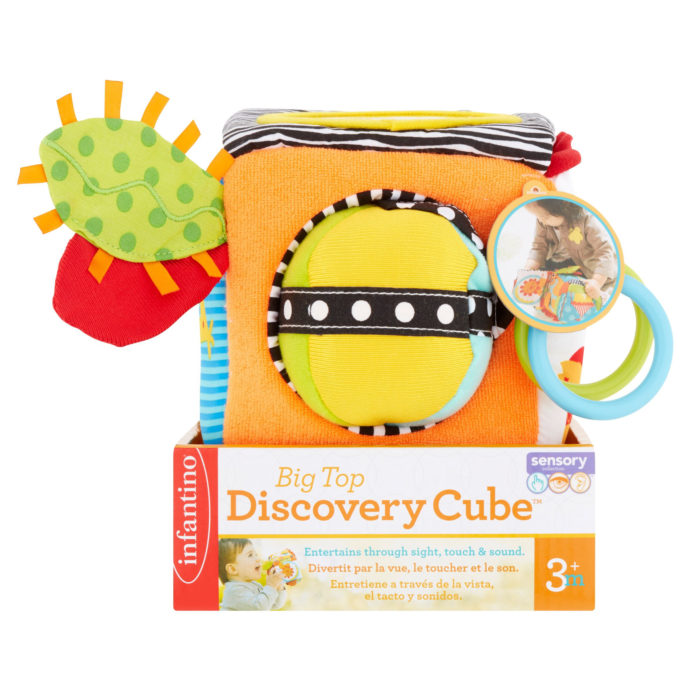 Infantino Big Top Discovery Cube 3+ m by Infantino