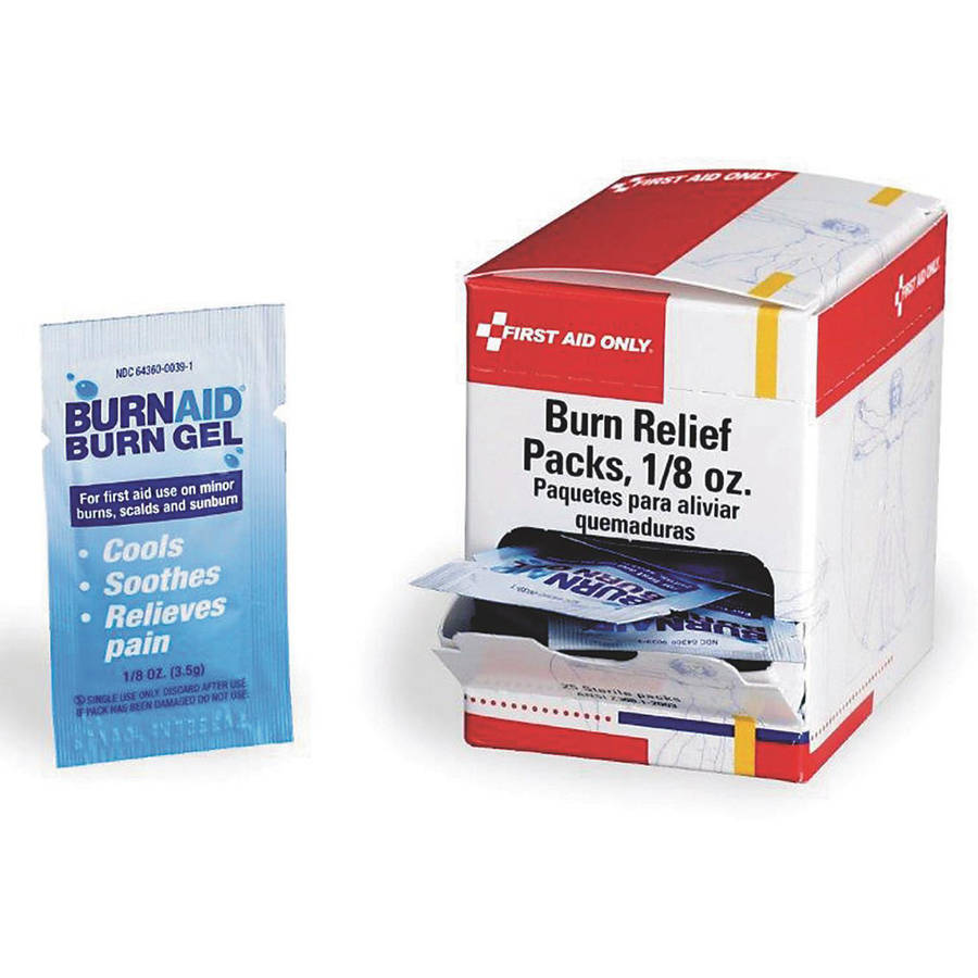 Image of First Aid Only Burn Relief Gel Packs