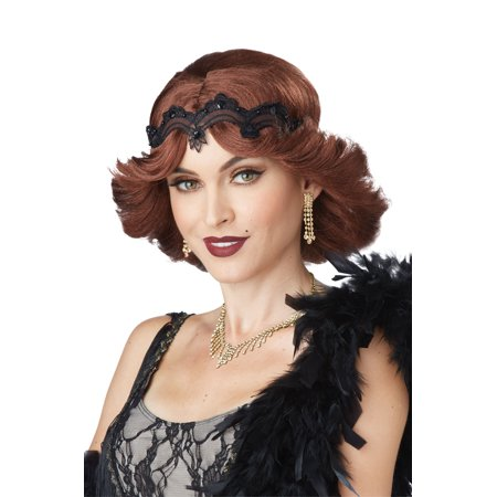20s Glitz and Glamour Wig and Headband - 20s Wig