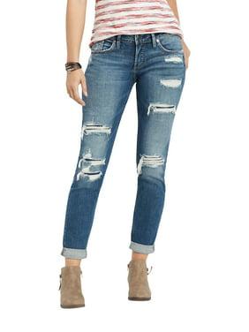 5eed1c428c3 Womens Boyfriend Jeans - Walmart.com