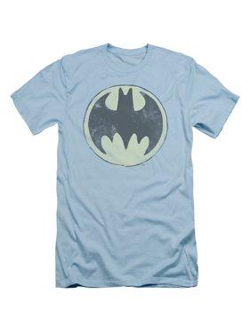 6d5b39176 Product Image Batman DC Comics Old Time Logo Adult Slim T-Shirt Tee