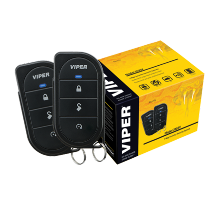 Viper 3106V CAR ALARM SECURITY SYSTEM KEYLESS SYSTEM 3 CHANNEL 1 WAY + 2