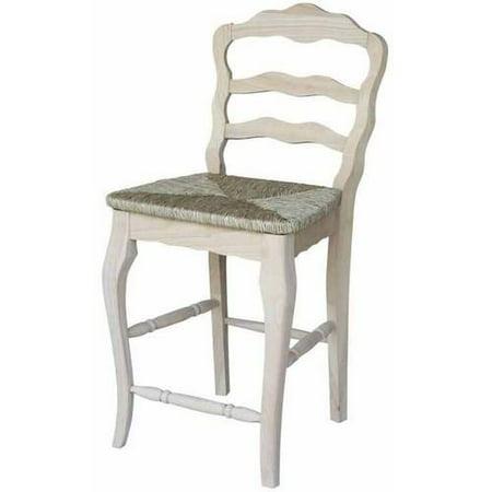 Versailles Counter Height Stool 24 Quot Rush Seat Walmart Com