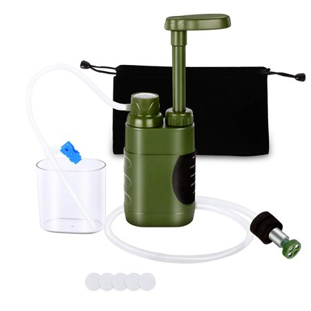 Outdoor Water Filter Straw Water Filtration System Water Purifier for Family Preparedness Camping Hiking Emergency - image 7 of 7