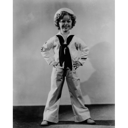 Shirley Temple Costume (Shirley Temple posed in sailor costume outfit Photo)