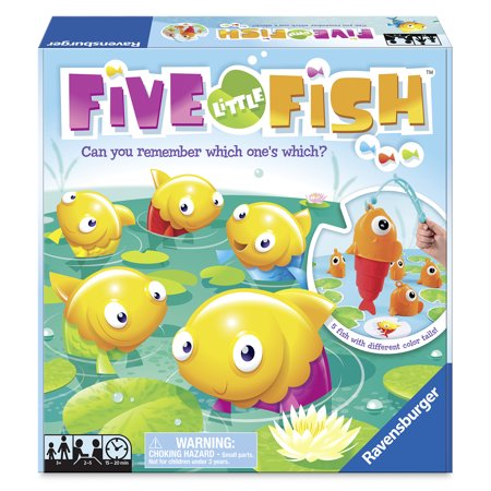 Fish Shaped Water Games (Five Little Fish Game)