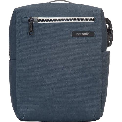 Pacsafe Intasafe Crossbody - Navy Anti-theft 10 Inch tablet bag