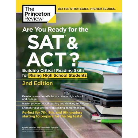 Sli Ready Edition (Are You Ready for the SAT and ACT?, 2nd Edition : Building Critical Reading Skills for Rising High School)