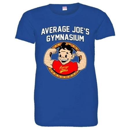 Average Joes Dodgeball Uniform (PleaseMeTees™ Womens Average Joe's Gymnasium Dodgeball Logo HQ)