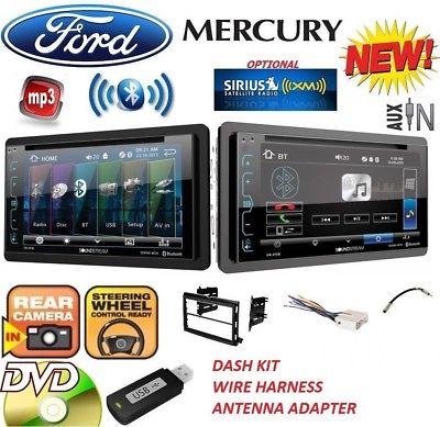 FORD MERCURY Bluetooth CD DVD USB AUX BT Car Radio Stereo OPTIONAL SIRIUSXM