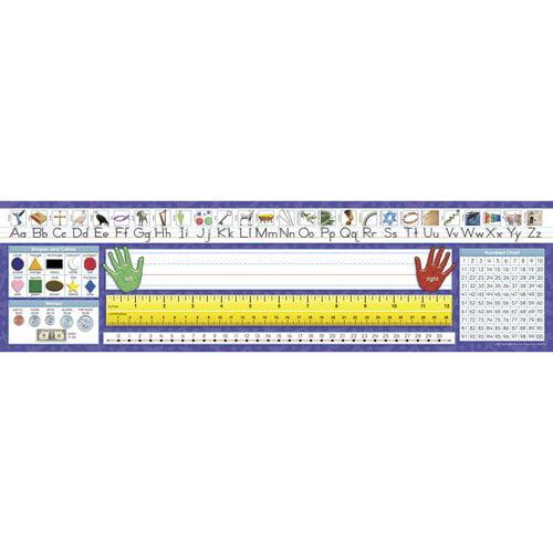 North Star Traditional Manuscript Desk Tape Name Tag