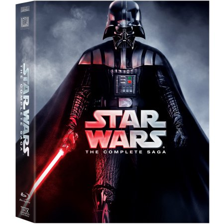 Star Wars: The Complete Saga - Halloween Complete Blu Ray Collection