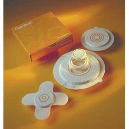 """Coloplast Comfeel Plus Pressure Relief Hydrocolloid Dressing 3"""" Butter?y Shape, Sterile, Polyurethane Top Film, High Den"""