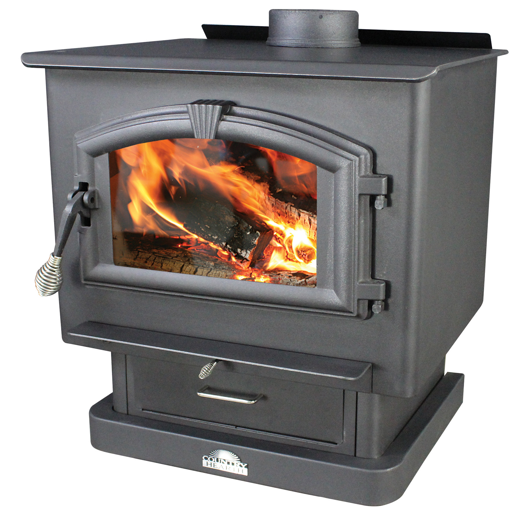 US Stove Wood Stove with Blower by United States Stove Company