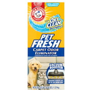 (2 Pack) Arm & Hammer Pet Fresh Carpet Odor Eliminator, 42.6 oz