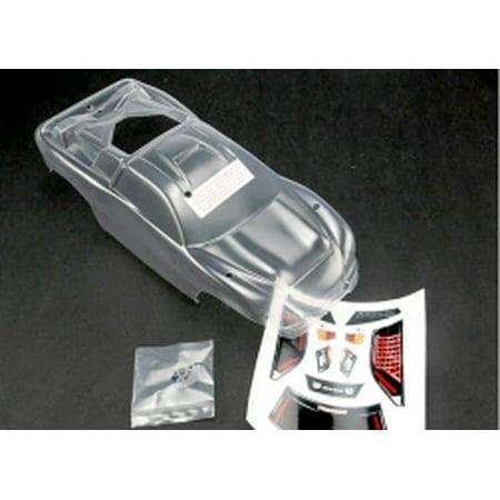 Traxxas 4412 Body, Clear: Nitro Rustler 2.5