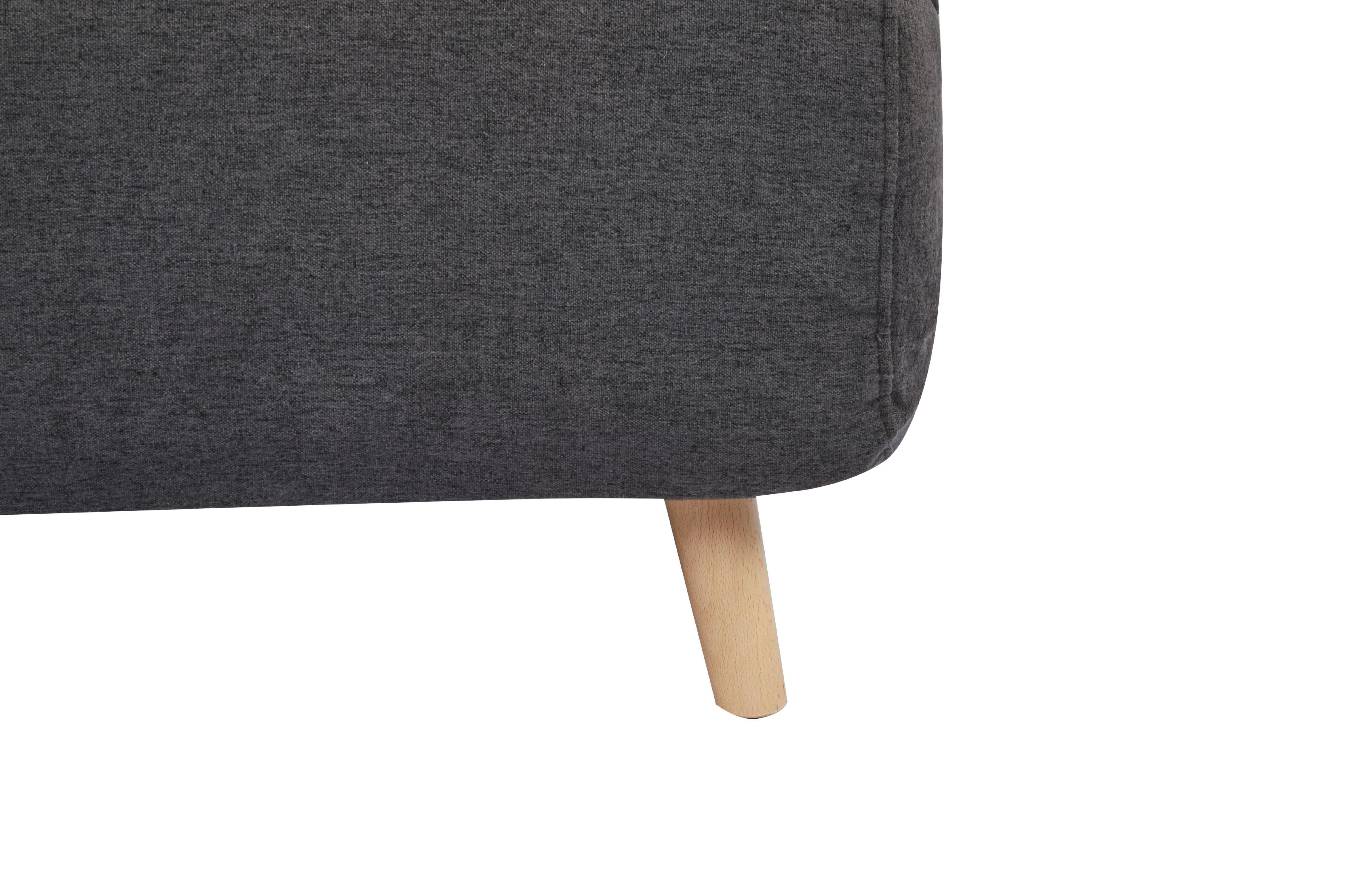 A D Home Tustin Convertible Chair Light Gray Walmart Com Walmart Com