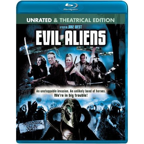 Evil Aliens (Unrated/Rated) (Blu-ray) (Widescreen)