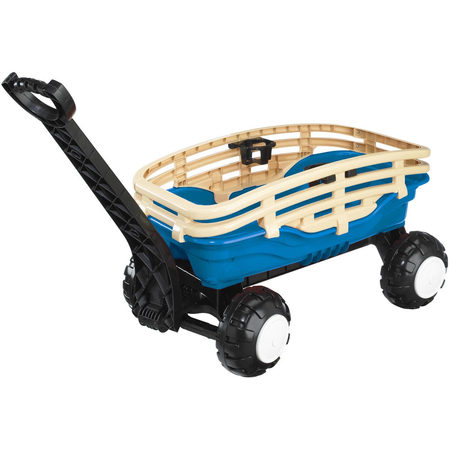 American Plastic Toys Deluxe Runabout Stake Wagon