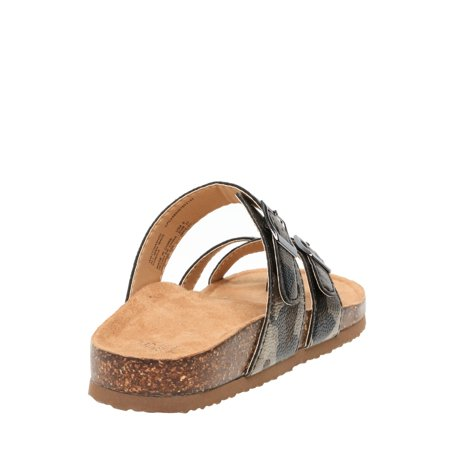 Women's Time and Tru Footbed Thong
