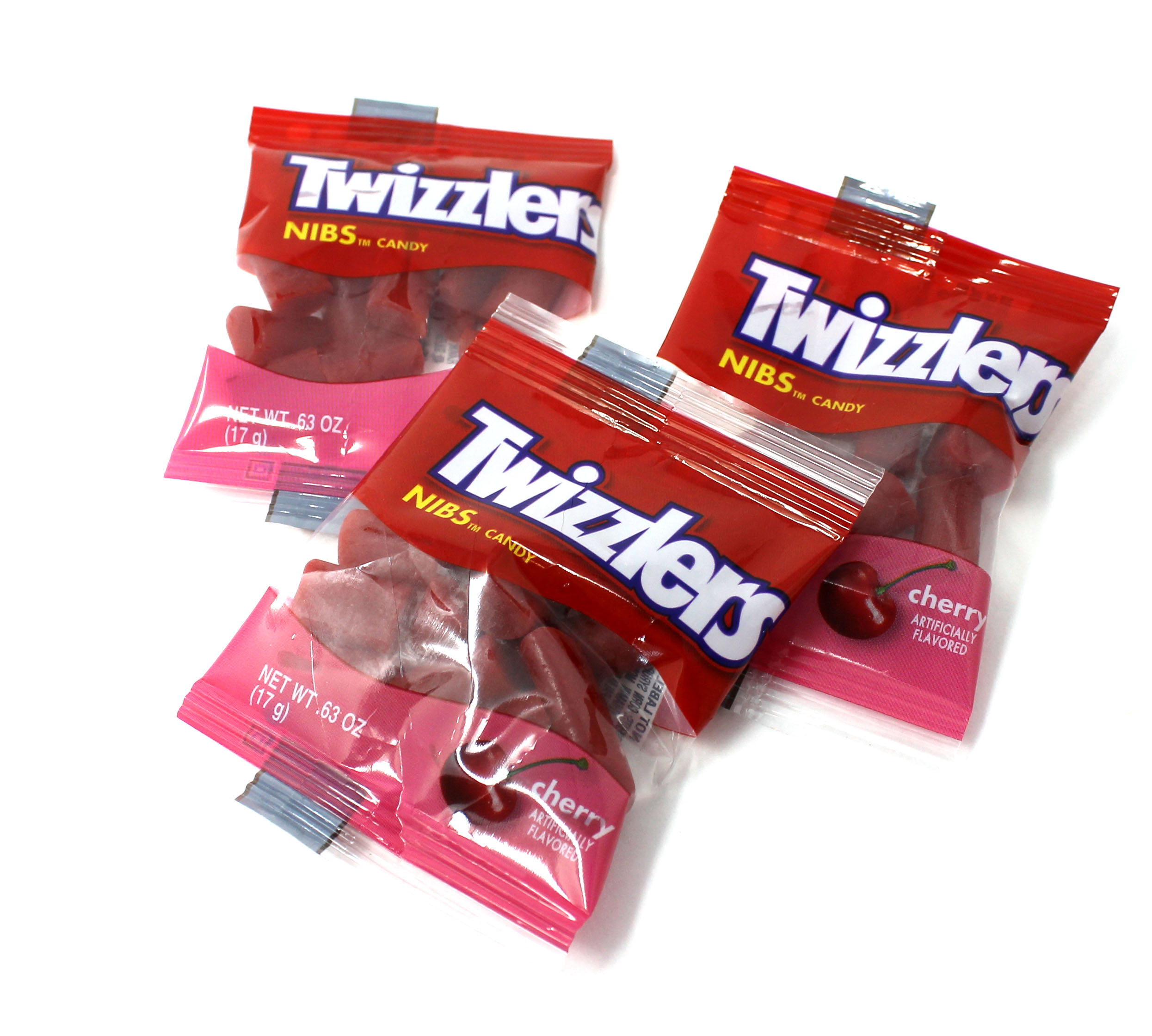 Twizzlers Cherry Nibs Candy Snack Size