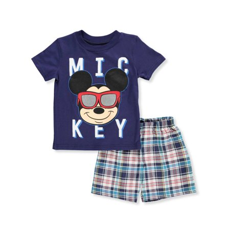 Disney Mickey Mouse Boys' 2-Piece Shorts Set Outfit](Mickey Mouse Outfit For Adults)