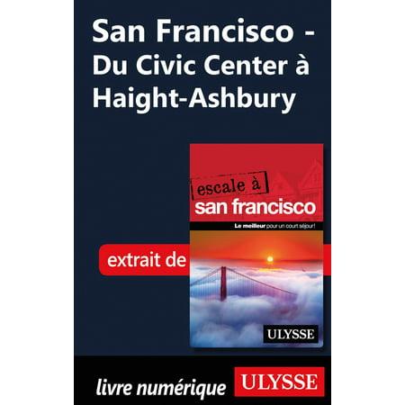 San Francisco - Du Civic Center à Haight-Ashbury - (San Francisco Center Stores)