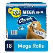 Charmin Ultra Soft Toilet Paper, 18 Mega Rolls, 4752 Sheets