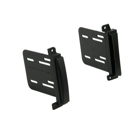SCOSCHE CR1293B - 2011-up Jeep CHREOKEE/DODGE DURANGO Double DIN Mounting Dash Kit for Car Radio / Stereo Installation